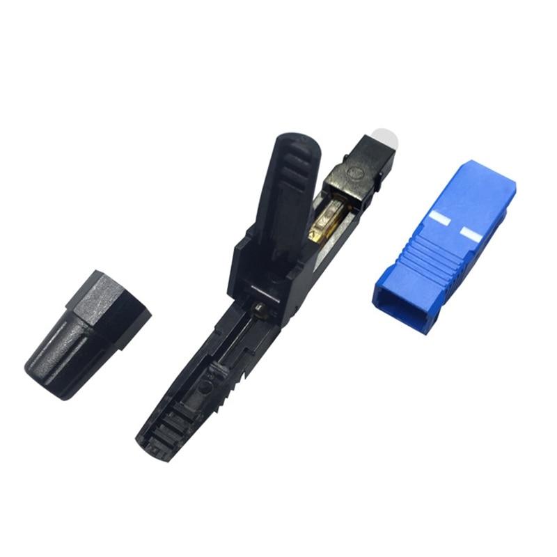 100Pcs/Lot Sc Upc Ftth Fiber Optic Connector Sc/Upc Optical Sc-Upc Fast