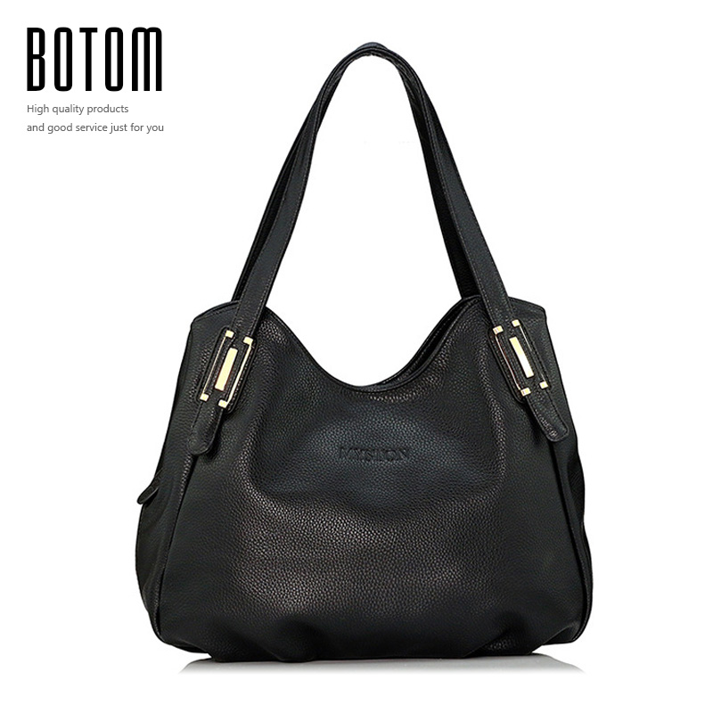 All Seasons Embossed Genuine Leather Women Bags Famous Brand Real Leather Handb