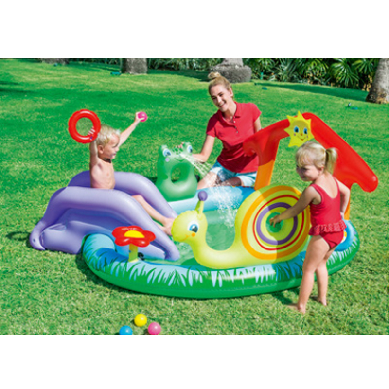 211 * 155 * 81cm Cute Baby Oppustelig Marine Ball Vand Pool Thickening Play Ground Fisk Svømning piscinas Pool Have Play Pool