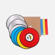 Hot sale Color changing CD 7pcs paper CD paper bag magic tricks magic toys