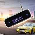 Caliente Mini Transmisor Inalámbrico Transmisor FM 3.5mm En-coche de la Música de Audio Para iphone 4 5 6 6 s plus samsung ipad transmisor del mp3 del coche