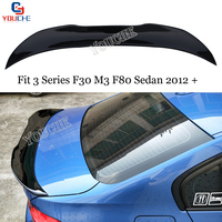 F30 PSM Style Rear Spoiler Wing for BMW 3 Series F30 M3 F80 4 door Sedan 2012 2019 318i 320i 328i Boot Trunk Lip
