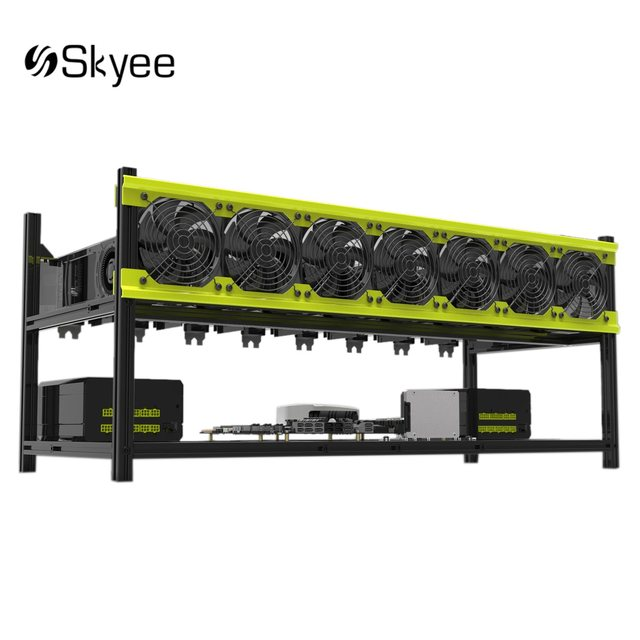 Online Shop S SKYEE Open Air Mining Rig Stackable Dual Power Frame ...