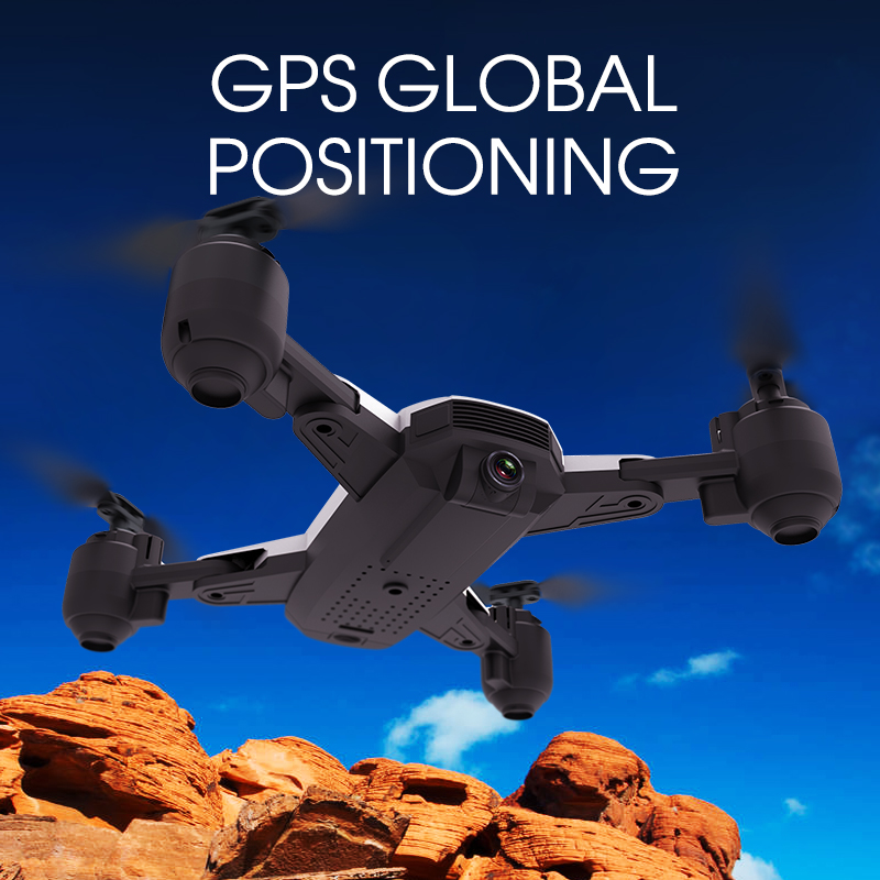 Image 5 - E511S 2.4G 4CH GPS 6 axis gyro Dynamic Follow WIFI FPV With 1080P Camera 16mins Flight Time RC Drone Quadcopter-in RC Helicopters from Toys & Hobbies