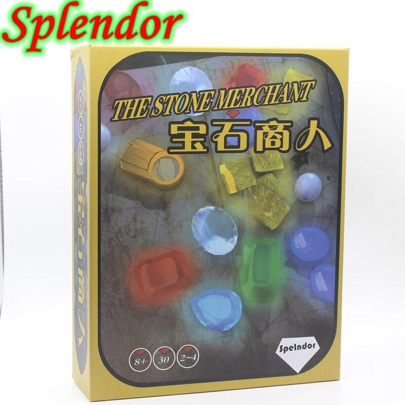 New Arrive Plastic Chips Splendor font b Board b font Game For 2 4 Player Family