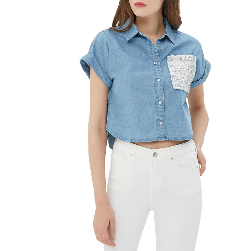 Blouses & Shirts MODIS M181D00151 woman blouse shirt blusas for female TmallFS женские блузки и рубашки women blouses 2015 blusas