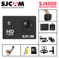 Original SJCAM SJ4000 Basic Mini Action Camera Novatek 96650 Go Waterproof Pro Yi 1080P HD Helmet