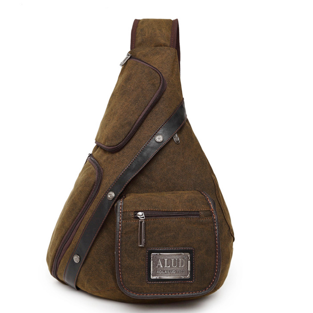High Quality Canvas Men Messenger Shoulder Cross body Bag ...