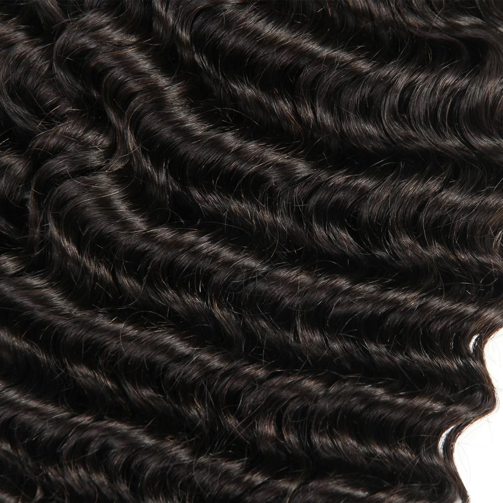 Индийские не remayan волосы для наращивания глубокая волна пучки 3 шт человеческие волосы переплетения натуральный цвет 12-28 дюймов
