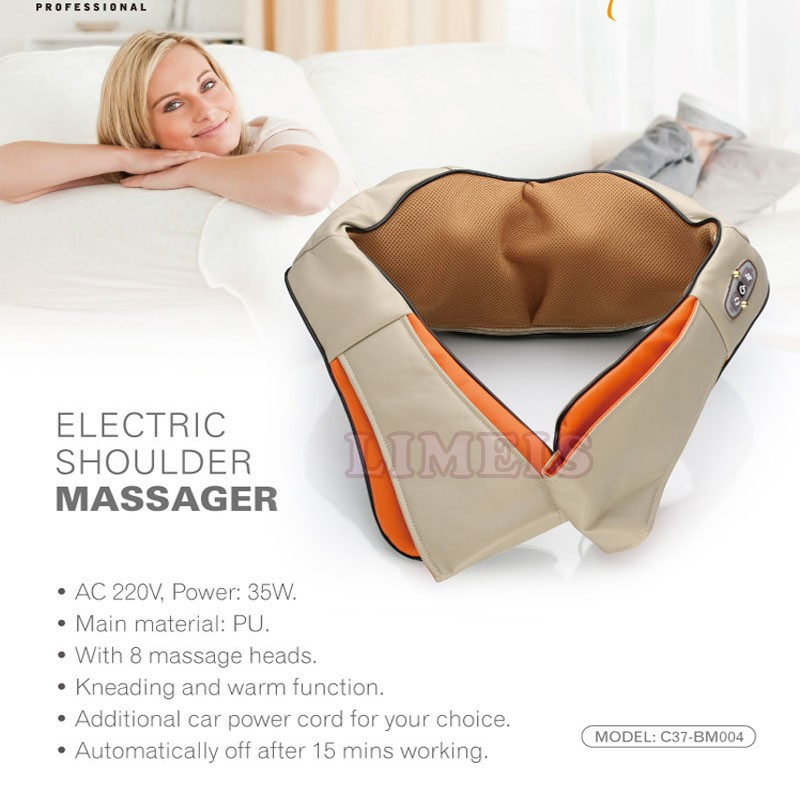 U shape electric shoulder massager 3