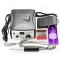 Pro Kit de Manicura Eléctrico Del Clavo Del Archivo Del Taladro del Arte Machine 35000 RPM Del Clavo Filetea Set