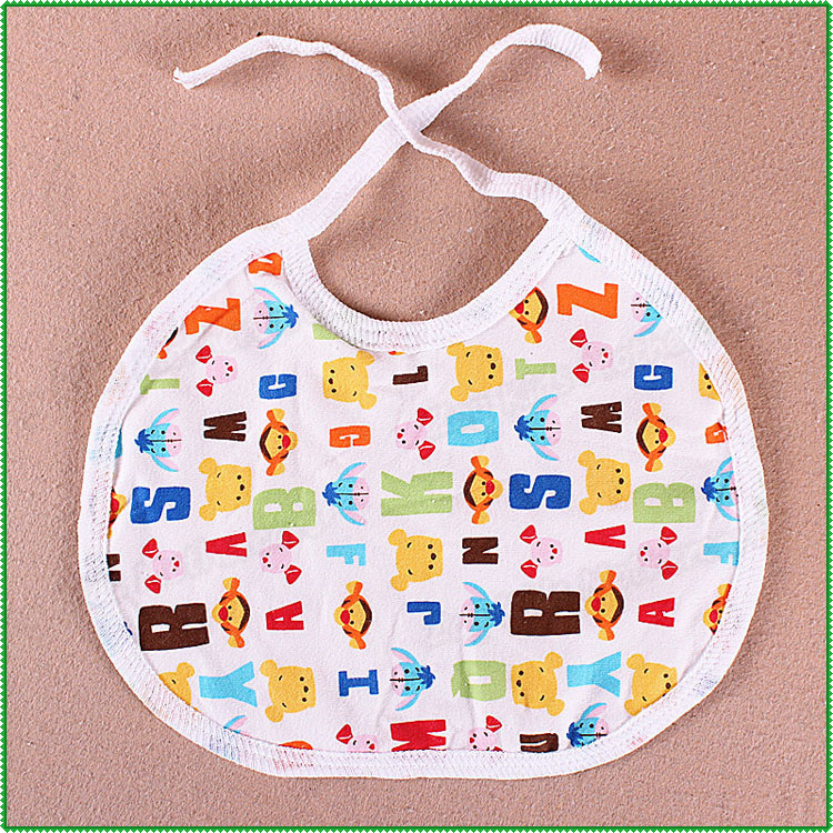 Hot Cheap Small Baby Bibs,Infants Kids Waterproof Saliva Towel For Lunch Dinner Burp Cloths Free Shipping