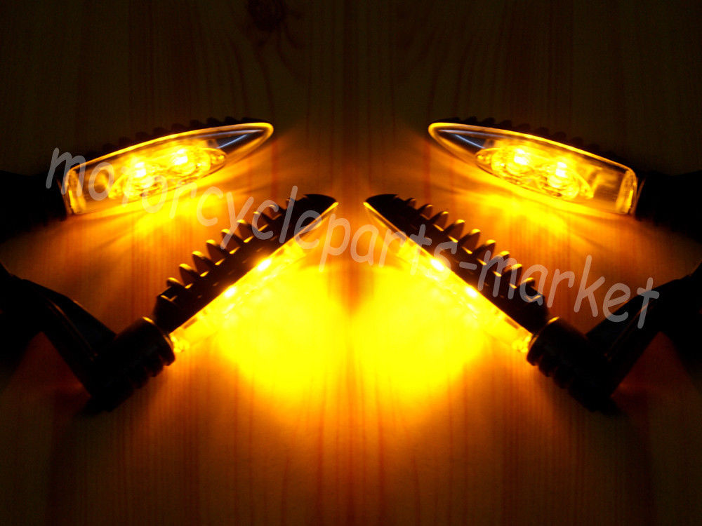 Motorcycle Front Rear Turn Indicator Signal Light LED case for BMW F800R 09-14/ F800GT 13-15/ F800GS 12-15