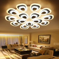Acrylic Thick Modern Led Ceiling Lights For Living Room Bedroom Dining Room Home Ceiling Lamp Lighting