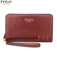 Awen Hot Sell New Arrival Genuine Leather Mens Clutch Wallet Famous Brand Men Purse Big Capacity
