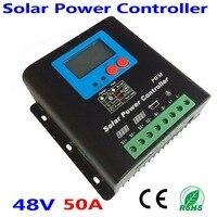 50A 60A 70A 80A 90A 100A солнечный регулятор MPPT Контроллер заряда для 48 В PV Системы солнечный регулятор