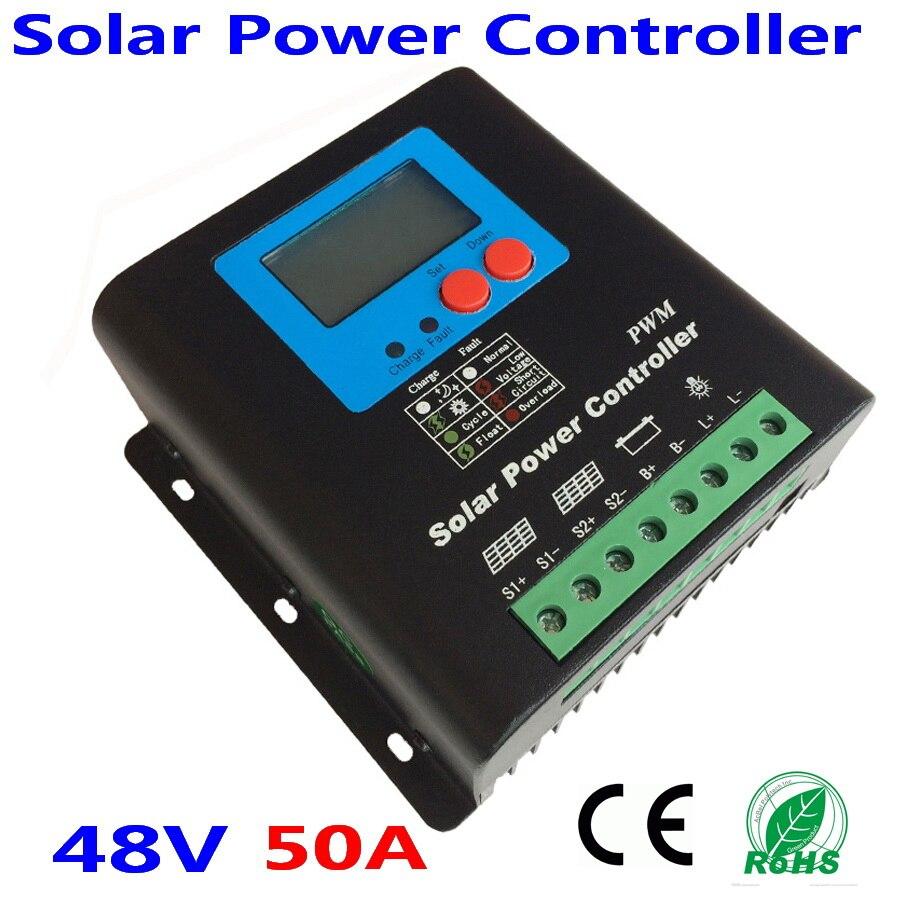 50A 60A 70A 80A 90A 100A Régulateur Solaire MPPT Contrôleur de Charge Solaire pour 48 v PV Système Solaire Régulateur
