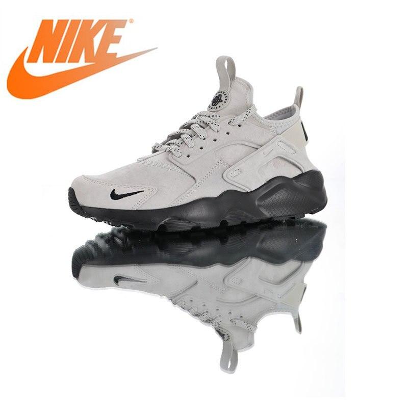 Original authentique Nike Air Huarache Ultra daim ID chaussures de course pour hommes Sport en plein Air respirant baskets de haute qualité 829669