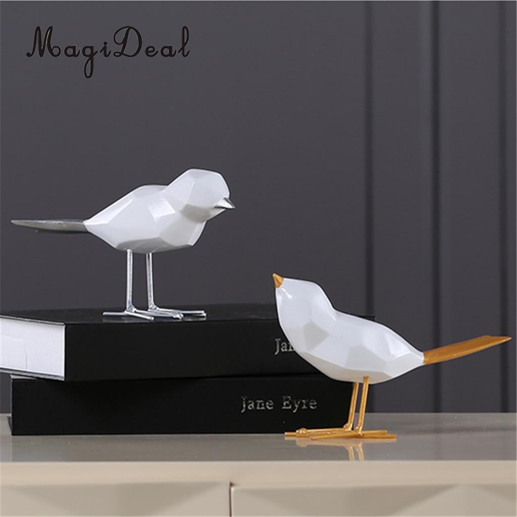 Harz Moderne Vogel Figur Statue Abstrakte Kunst Skulptur für Zuhause ...