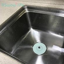 Kitchen Push-type Deodorant Closure Bouncing Silicone Floor Drain Bathroom Anti-clogging Sink Filter Water Plug