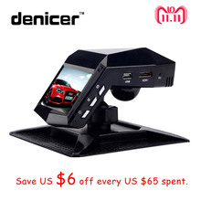 Denicer Novatek 96658 Car Recorder With Perfume Full HD 1296P Car DVR Camera 2″ LCD Video Registrator Car Night Vision Dash cam