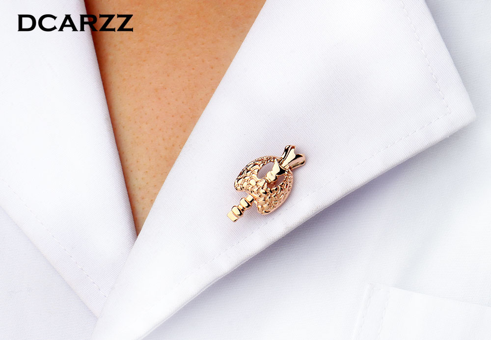 Endocrinology Logo Pin Medical Jewelry Gift for EndocrinologistDoctors the Silver Color Brooch Jewellery Hormones