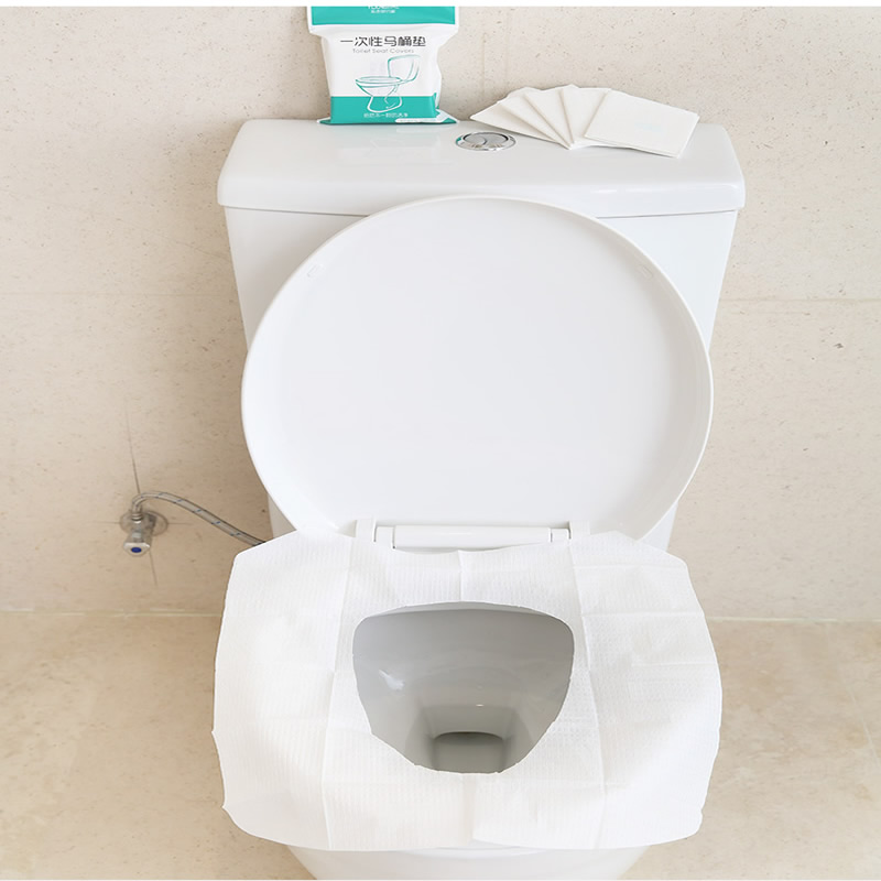 Astonishing Us 1 83 8 Off 10Pcs Pack Disposable Toilet Seat Pad Durable Double Layer Toilet Paper Pad Home Travel Bathroom Supplies In Toilet Seat Covers From Caraccident5 Cool Chair Designs And Ideas Caraccident5Info