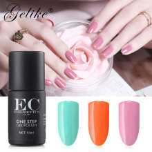 Gelike One Step Nail Gel Art Design Manicure 15 Color 10Ml Soak Off Polish LED UV Polishes Lacquer