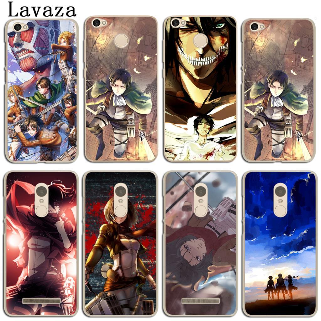 Lavaza Attack On Titan Japan Anime Case for Xiaomi Mi 8 SE A1 5X MiA1 Mi8 MIX 2S Redmi S2 Note 4A 4 4X 3 6 Pro 5 Plus 5A Prime