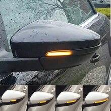 ANZULWANG для VW Passat CC B7 Beetle Scirocco Jetta MK6 евро светодиодный светильник с боковым крылом динамического указателя поворота зеркало заднего вида