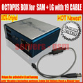Latest Original Octopus box Full activated with optimus Cable Set for LG and for Samsung Unlock Flash & Repair New update for S5