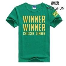 Winner Winner Chicken dinner print t shirts