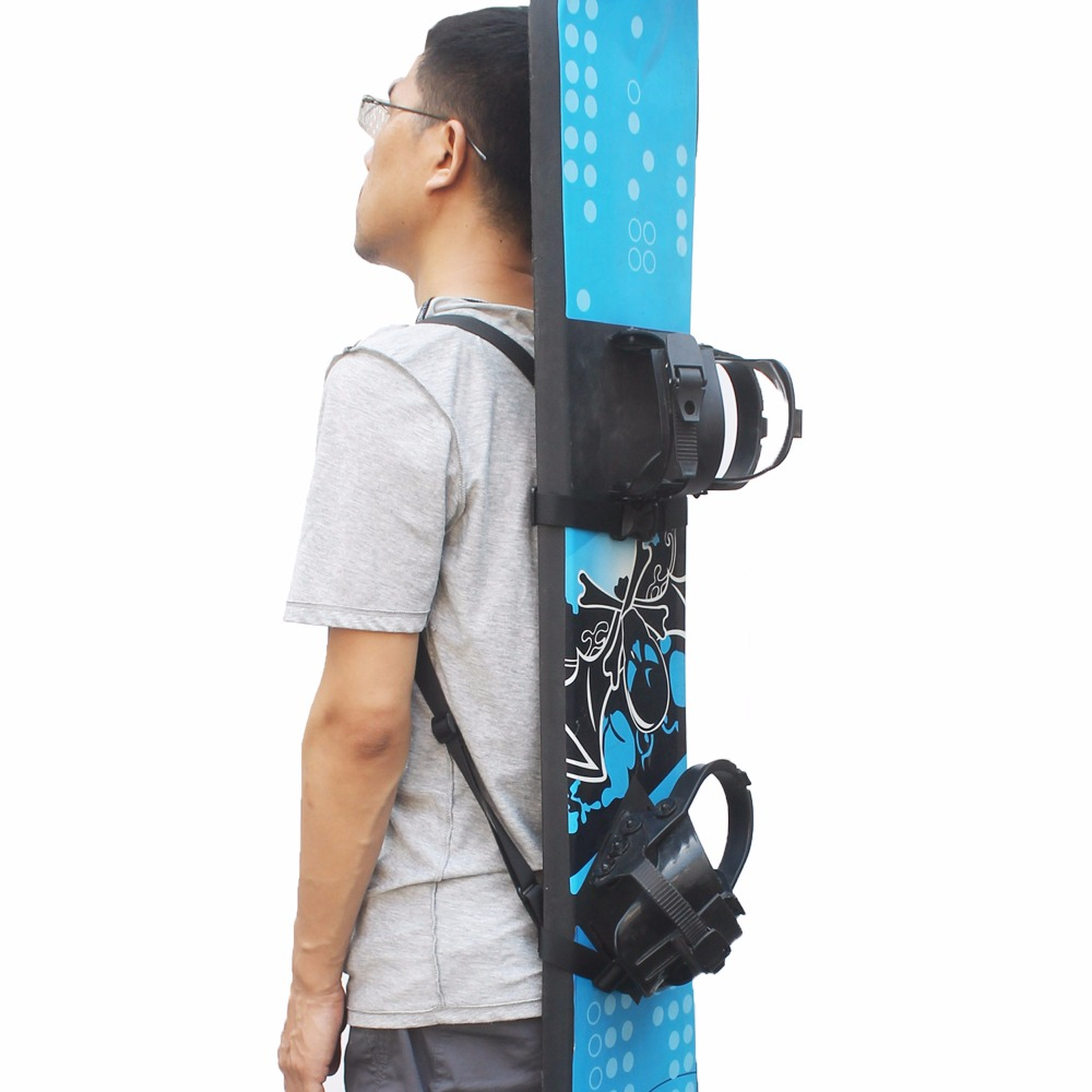 цена Snowboard Backpack Shoulder Strap Snowboard Backpack Carry Strap Snowboard Carrier - No Board
