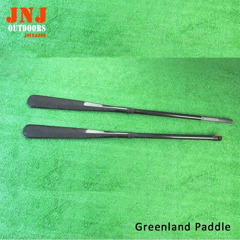 Directe d'usine réglable Groenland Pagaie Et Plein carbone 10 cm réglage Arbre avec sac Gratuit