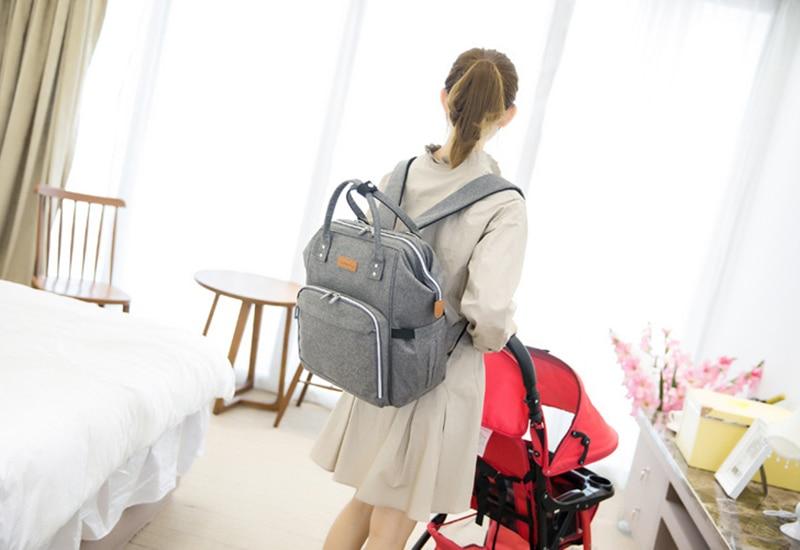 HTB1cGzygTvI8KJjSspjq6AgjXXak 23 Colors Fashion Mummy Maternity Nappy Bag Large Capacity Baby Diaper Bag Travel Backpack Designer Nursing Bag for Baby Care