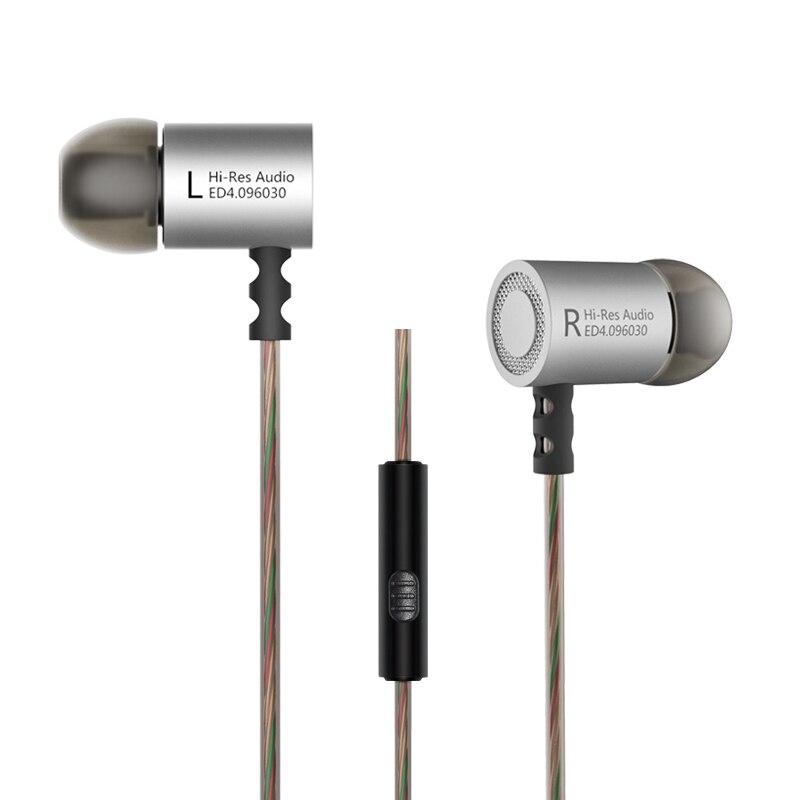 Original KZ ED4 Estéreo Bajo HiFi Smartphone Auricular Sluchawki - Audio y video portátil - foto 5