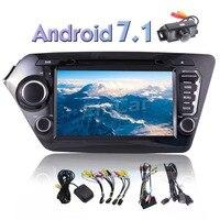 Eincar 8 dvd плеер автомобиля Android 7,1 стерео для KIA K2 gps навигации Bluetooth CD FM/AM радио USB/SD телефон ссылка AUX
