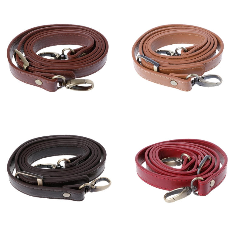 110-120cm Adjustable Bag Strap Leather Bag Handle Strap Shoulder Crossbody Handbag Handle Replacement For DIY Accessories KZ0075