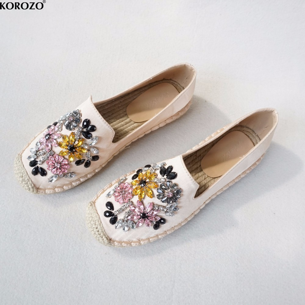 slipony women size 9 flat shoes 2017 ladies espadrilles