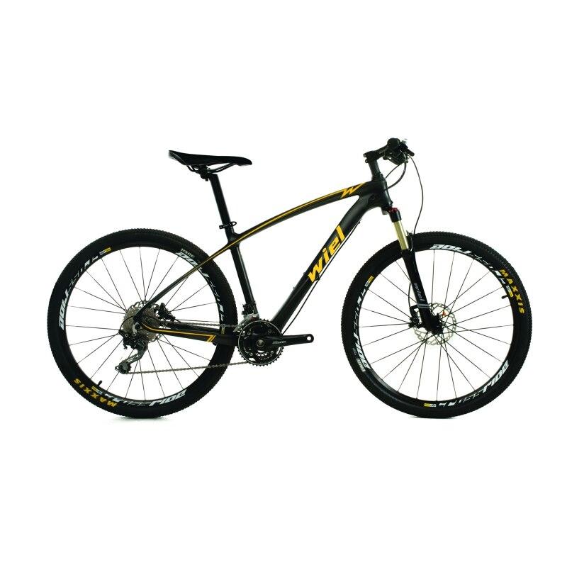WIEL W6 30 vitesses en Fiber de carbone vtt montagne 27.5 vélo vélo ultra-léger Cycle SHIMANO M6000 dérailleur double fourche à Suspension pneumatique