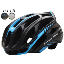 Cycling Helmet Road Mountain In-mold Bicycle Helmet Ultralight Bike Helmet With LED Warning Lights Casco Ciclismo