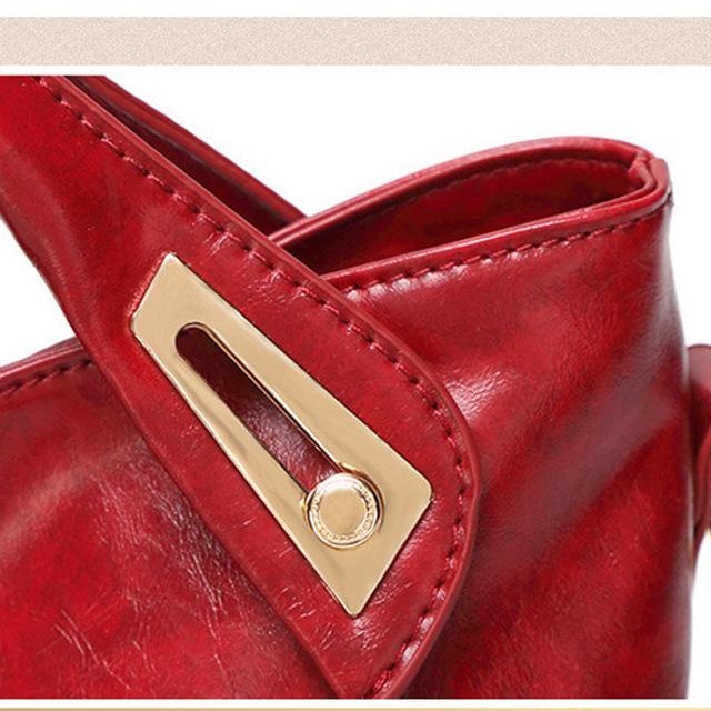 2017 New Fashion Women Messenger Bags PU Leather Women's Shoulder Bag Crossbody Bags Casual Famous Brand Popular Ladies Handbags