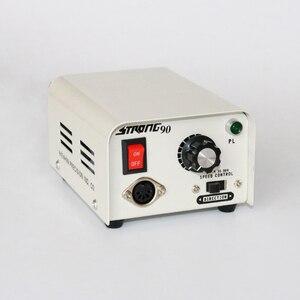 Image 2 - 65 W 35,000 RPM Güçlü 90 102L 2.35 Elektrikli Tırnak Matkap Makinesi Manikür Pedikür Dosya Uçları Çivi heykel Sanat Ekipmanları