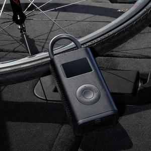 Image 4 - Xiaomi Mijia Portable Smart Digital Tire Pressure Detection Electric Car Inflator Pump for Bike Motorcycle Car Football