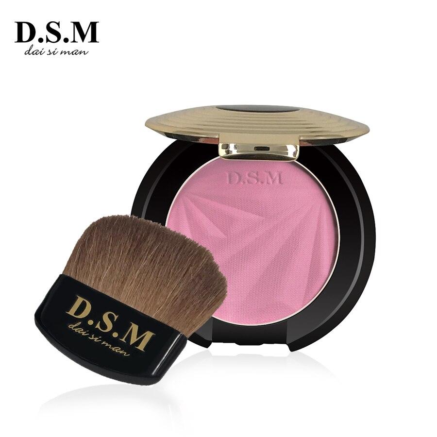 D.S.M Marque Nouveau Visage Maquillage Blush Longue durée Facile à Porter Naturel Cosmétique Blush Make Up Shaping Blush Haute qualité