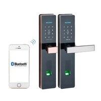 Fingerprint Door lock, Waterproof Electronic Door Lock Intelligent App Biometric Door Lock Smart Wifi Fingerprint Lock