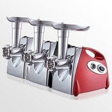 Коммерческий домашний электрический многофункциональный автоматический фарш блендер клизма мясорубка машина с чесноковой пастой чили соус