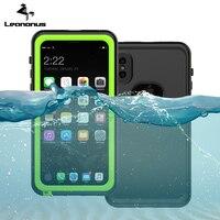 Wodoodporna Obudowa Dla iPhone X Pływać Nurkowania Dowód Wody Shock Proof Cover Przypadki telefonów Dla iPhone 8 7 6 6 s Plus Narciarstwo Back Cover