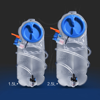 Poche d'hydratation pliable 1.5L ou 2.5L