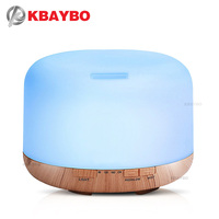 500ml Air Humidifier Essential Oil Diffuser Aroma Lamp Aromatherapy Electric Aroma Diffuser Mist Maker For Home